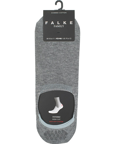 Falke Casual High Cut Sneaker Sock Light Grey Melange i gruppen Klær / Undertøy / Sokker hos Care of Carl (15230511r)