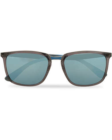 Ray-Ban 0RB4303 Sunglasses Blue Mirro  i gruppen Assesoarer / Solbriller / Firkantede solbriller hos Care of Carl (15236810)