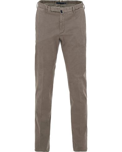 Incotex Slim Fit Comfort Chino Medium Grey