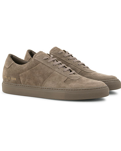Common Projects B Ball Sneakers Grey Suede