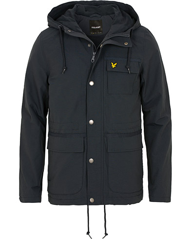 Lyle & Scott Micro Fleece Lined Jacket Dark Navy i gruppen Klær / Jakker / Fieldjakker hos Care of Carl (15255911r)