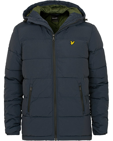 Lyle & Scott Wadded Jacket Dark Navy i gruppen Klær / Jakker / Dunjakker hos Care of Carl (15257111r)