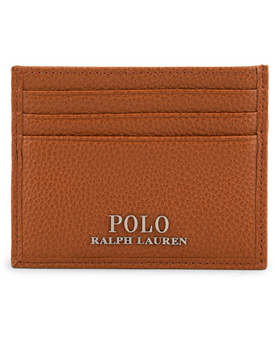 Polo Ralph Lauren Credit Card Holder Polo Tan  i gruppen Assesoarer / Lommebøker / Kortholdere hos Care of Carl (15268210)