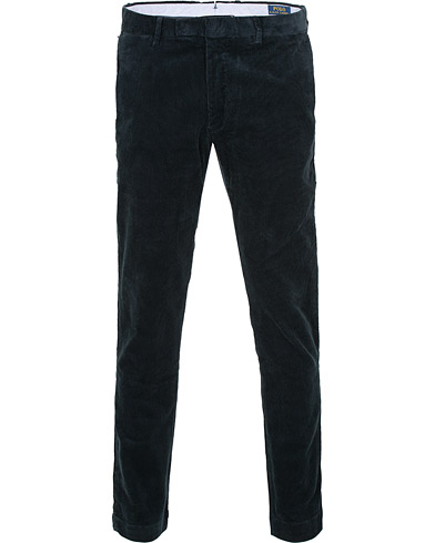 Polo Ralph Lauren Hudson Slim Fit Corduroy Trousers Aviator Navy