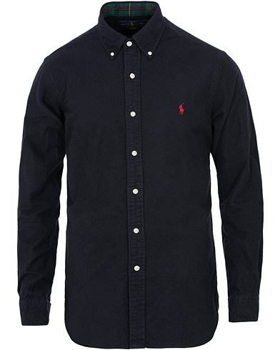 Polo Ralph Lauren Slim Fit Flannel Shirt Navy i gruppen Klær / Skjorter / Casual / Flanellskjorter hos Care of Carl (15290711r)