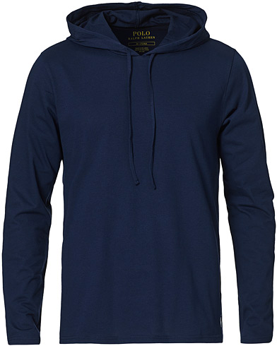 Polo Ralph Lauren Liquid Cotton Hoodie Cruise Navy i gruppen Klær / Gensere / Hettegensere hos Care of Carl (15295511r)