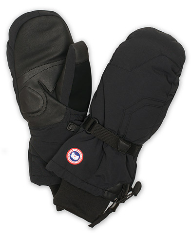 Canada Goose Down Mittens Black