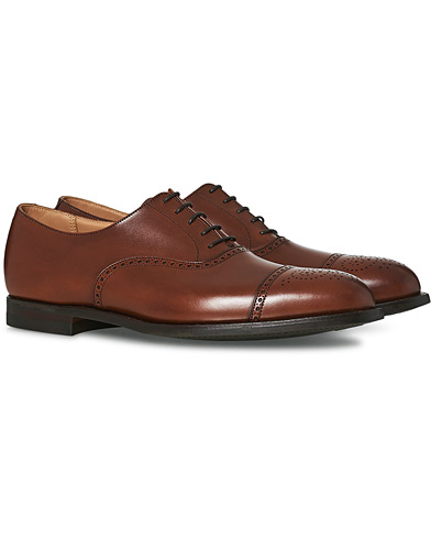 Crockett & Jones Hatton Brogue City Sole Burnished Calf i gruppen Sko / Brogues hos Care of Carl (15348411r)