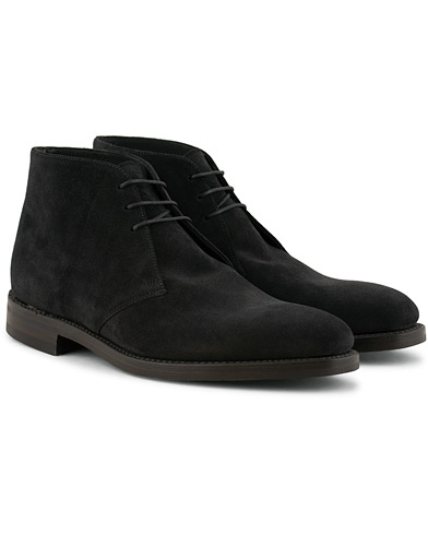 Loake 1880 Pimlico Chukka Boot Black Suede
