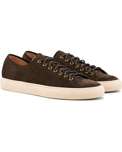 Buttero Suede Sneaker Dark Brown i gruppen Sko / Sneakers / Sneakers med lavt skaft hos Care of Carl (15351211r)