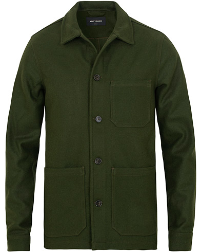 A Day's March Original Overshirt Wool Jacket Army