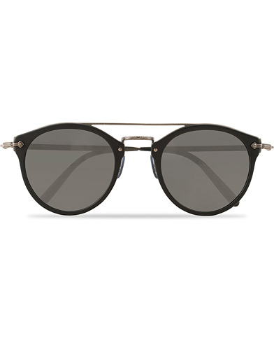 Oliver Peoples Remick Sunglasses Black/Grey  i gruppen Assesoarer / Solbriller / Runde solbriller hos Care of Carl (15401410)