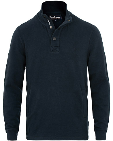 Barbour Lifestyle Albacore Half Snap Navy i gruppen Klær / Gensere / Sweatshirts hos Care of Carl (15415011r)
