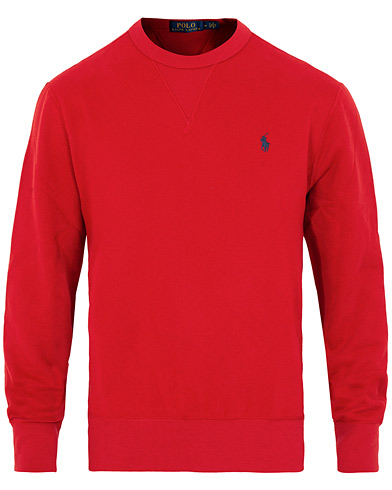 Polo Ralph Lauren Magic Fleece Crew Neck Sweatshirt Ralph Red i gruppen Klær / Gensere / Sweatshirts hos Care of Carl (15431111r)