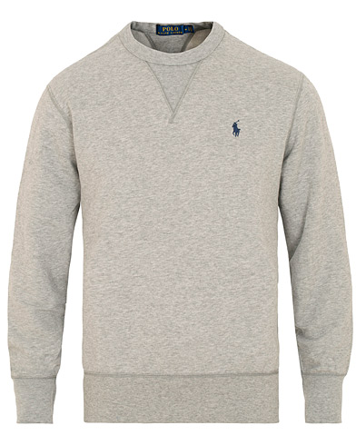 Polo Ralph Lauren Magic Fleece Crew Neck Sweatshirt Andover Heather i gruppen Klær / Gensere / Sweatshirts hos Care of Carl (15431211r)