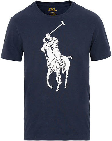 Polo Ralph Lauren Polo Player Tee Cruise Navy i gruppen Klær / T-Shirts / Kortermede t-shirts hos Care of Carl (15444011r)