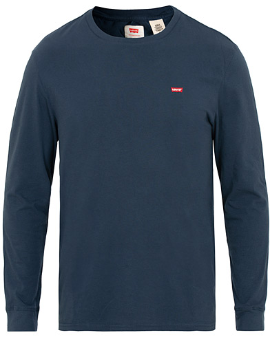 Levi's Original Long Sleeve Tee Dress Blue i gruppen Klær / T-Shirts / Langermede t-shirts hos Care of Carl (15451811r)