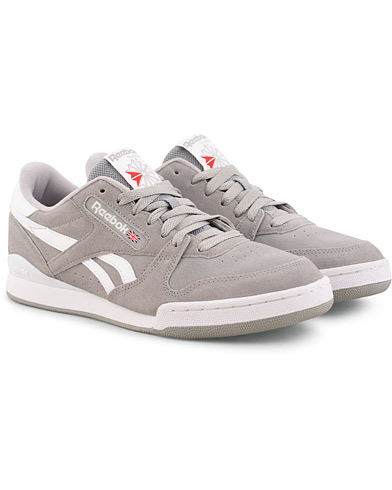 Reebok Phase 1 Pro Mu Low Sneaker Grey Suede i gruppen Sko / Sneakers hos Care of Carl (15485311r)