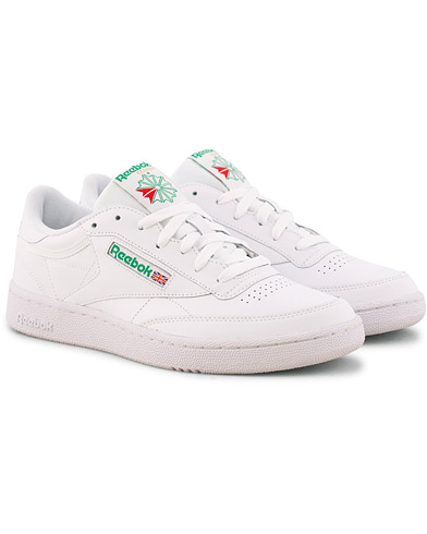 Reebok Club C85 Sneaker White/Green i gruppen Sko / Sneakers hos Care of Carl (15485711r)