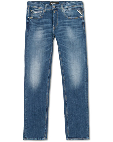 Replay Grover Jeans Medium Blue i gruppen Klær / Jeans hos Care of Carl (15490811r)
