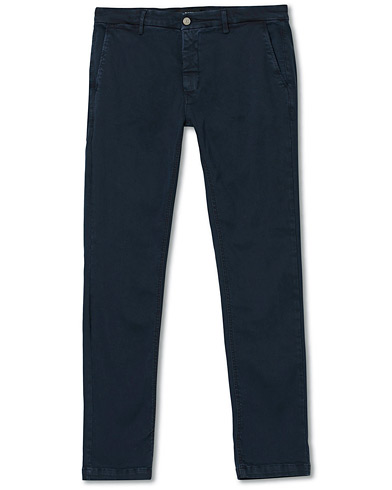 Replay Zeumar Hyperflex Chino Blue i gruppen Klær / Bukser / Chinos hos Care of Carl (15493811r)
