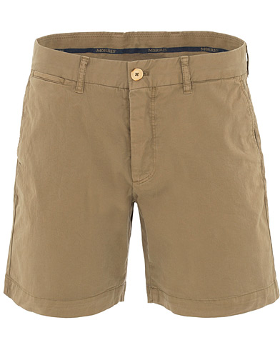 Morris Light Twill Chino Shorts Olive