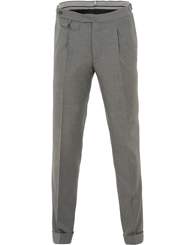 Morris Heritage Jason Plain Trousers Grey