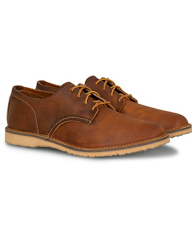 Red Wing Shoes Weekender Oxford Maple Muleskinner Leather i gruppen Sko / Derbys hos Care of Carl (15519511r)