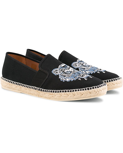 Kenzo Canvas Tiger Espadrilles Black i gruppen Sko / Espadrillos hos Care of Carl (15525411r)