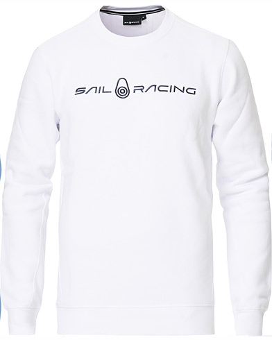 Sail Racing Bowman Crew Neck Sweater White i gruppen Klær / Gensere / Sweatshirts hos Care of Carl (15552411r)