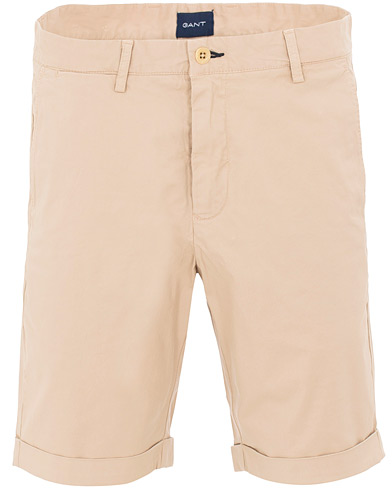 GANT Sunbleached Shorts Dry Sand i gruppen Klær / Shorts / Chinosshorts hos Care of Carl (15562611r)