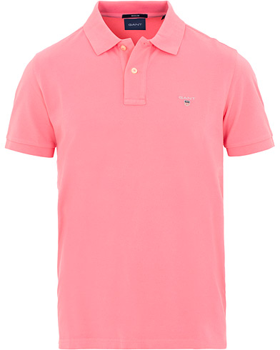 GANT The Original Polo Pink Rose i gruppen Klær / Pikéer / Kortermet piké hos Care of Carl (15563511r)
