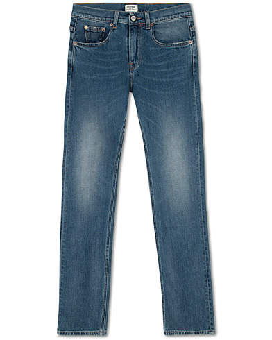 C.O.F. Studio M1 Slim Fit Stretch Jeans Heavy Used i gruppen Klær / Jeans hos Care of Carl (15577011r)