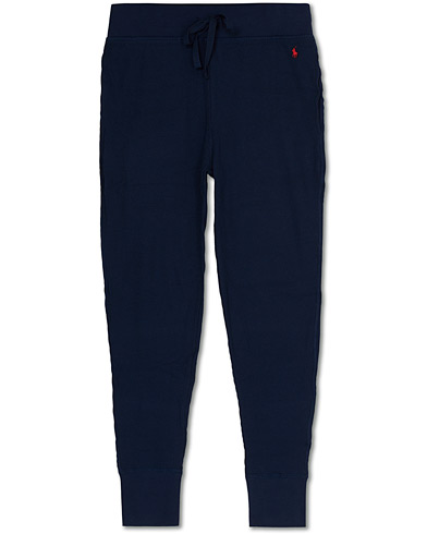 Polo Ralph Lauren Waffle Sweatpants Navy i gruppen Klær / Bukser / Joggebukser hos Care of Carl (15579811r)