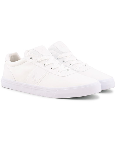 Polo Ralph Lauren Hanford Canvas Sneaker Pure White i gruppen Sko / Sneakers / Sneakers med lavt skaft hos Care of Carl (15581711r)