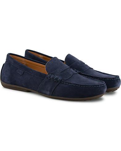 Polo Ralph Lauren Reynold Loafer Navy i gruppen Sko / Loafers hos Care of Carl (15581911r)
