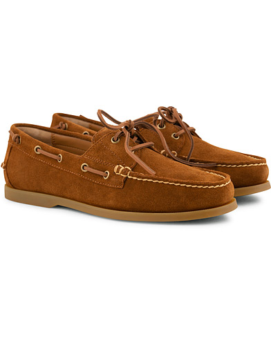 Polo Ralph Lauren Merton Suede Deckshoes New Snuff i gruppen Sko / Seilersko hos Care of Carl (15582011r)