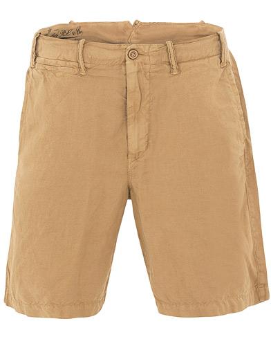 Polo Ralph Lauren Cotton/Linen Shorts Desert Khaki