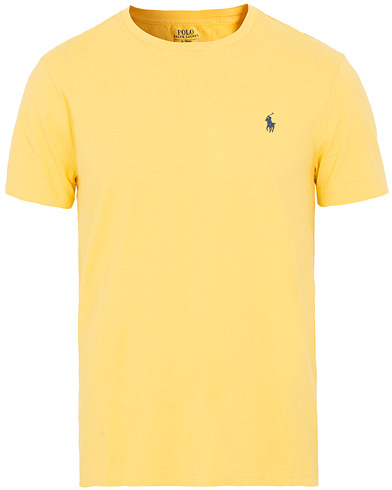 Polo Ralph Lauren Crew Neck Tee Fall Yellow i gruppen Klær / T-Shirts / Kortermede t-shirts hos Care of Carl (15598511r)