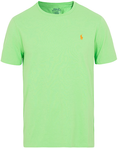 Polo Ralph Lauren Crew Neck Tee New Lime i gruppen Klær / T-Shirts / Kortermede t-shirts hos Care of Carl (15598711r)