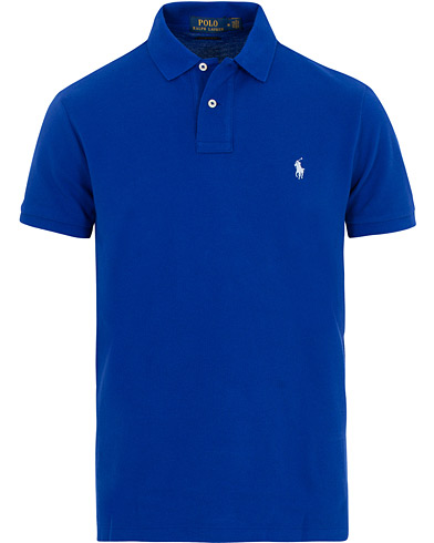 Polo Ralph Lauren Custom Slim Fit Polo Heritage Royal i gruppen Klær / Pikéer / Kortermet piké hos Care of Carl (15602411r)