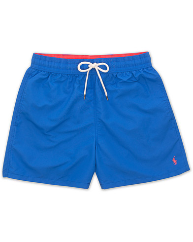 Polo Ralph Lauren Traveler Boxer Swimshorts New Iris Blue i gruppen Klær / Badeshorts hos Care of Carl (15606511r)