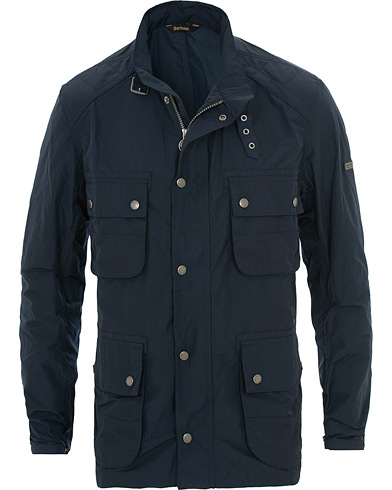 Barbour International Weir Casual Field Jacket Navy i gruppen Klær / Jakker / Fieldjakker hos Care of Carl (15618211r)
