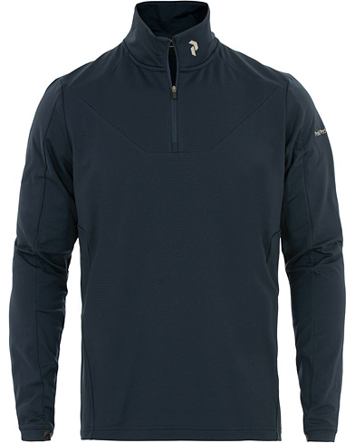 Peak Performance Ace Mid Half Zip Blue Shadow i gruppen Klær / Gensere / Zip-gensere hos Care of Carl (15660211r)