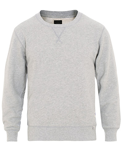Tiger of Sweden Jeans Lexxus Crew Neck Sweatshirt Grey Melange i gruppen Klær / Gensere / Sweatshirts hos Care of Carl (15707611r)