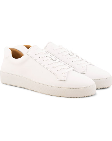 Tiger of Sweden Salas Leather Sneaker White i gruppen Sko / Sneakers / Sneakers med lavt skaft hos Care of Carl (15709811r)