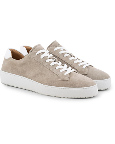 Tiger of Sweden Salas Suede Sneaker Light Beige