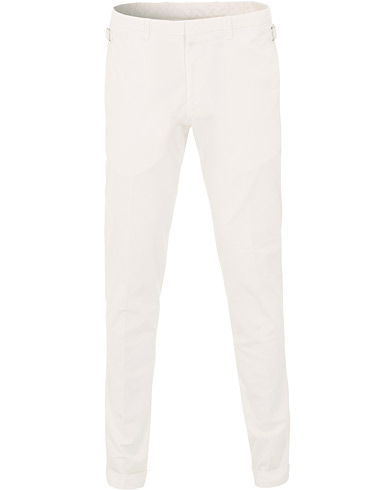Tiger of Sweden Tretton Adjusters Cotton Trousers Off white i gruppen Klær / Bukser / Chinos hos Care of Carl (15712411r)
