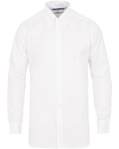 Turnbull & Asser Regular Fit Oxford Button Down Shirt White
