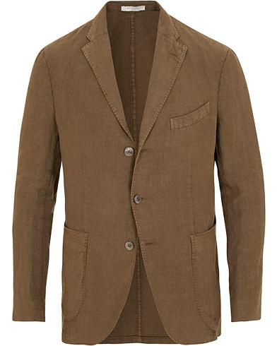 Boglioli K Jacket Linen Blazer Brown